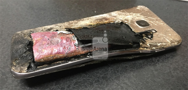 Samsung Galaxy S7 Edge Exploded in USA