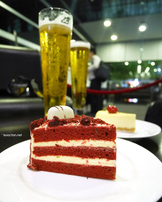 Having a cake, or two to go with our beers :)