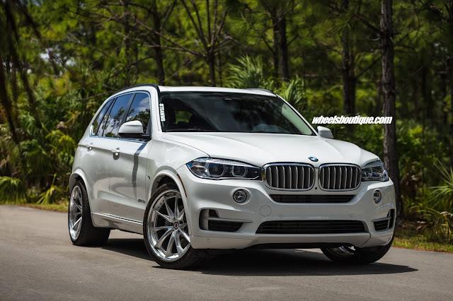 BMW X5 Hybrid on HRE Wheels - #BMW #X5 #Hybrid #HRE #Wheels #tuning #suv