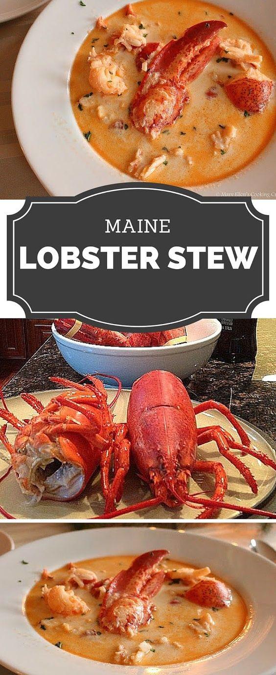 Maine Lobster Stew