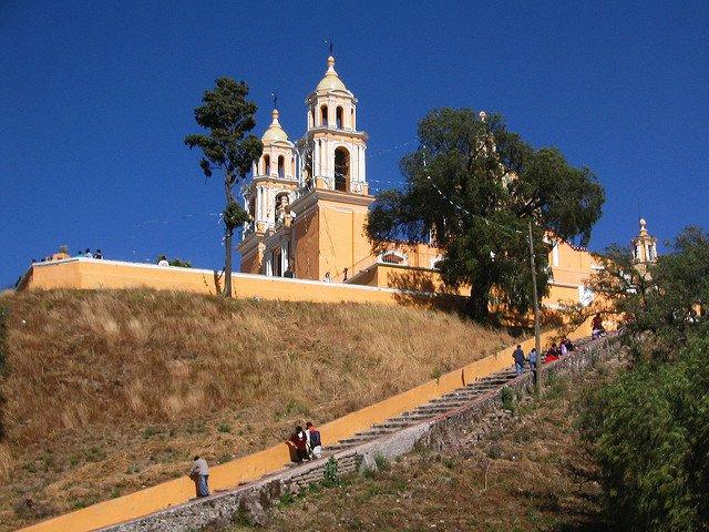 La Iglesia de Nuestra Señora de Los Remedios.