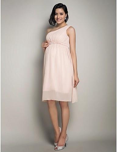 gran descuento 283c1 78a4c Llamativos vestidos de fiesta para embarazadas | 101 ...