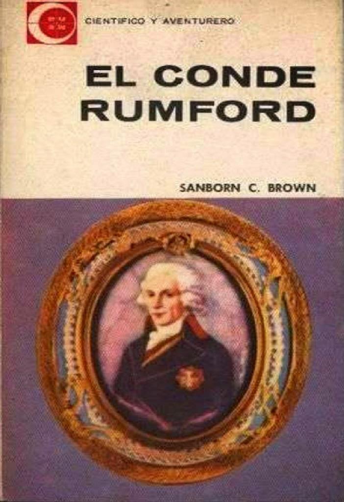 El conde Rumford – Sanborn C. Brown