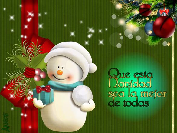 Tarjetas de navidad para el facebook gratis