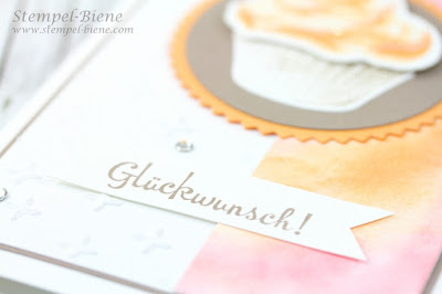 Stampin' Up Sommerkarte; Stampin' Up Sommerfarben; Stampin' Up Wischtechnik; Stampin' Up Blog