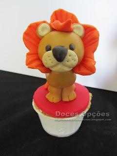cupcake leão