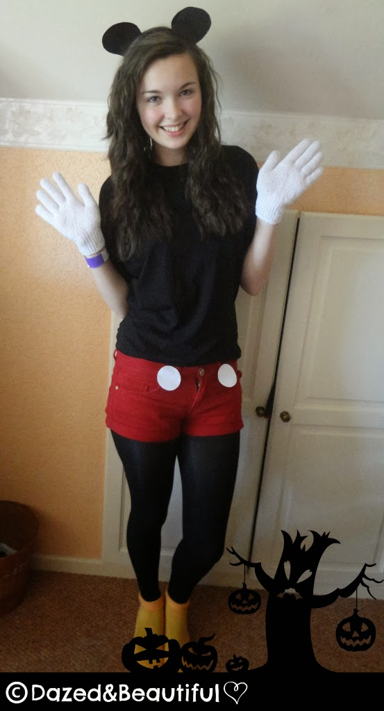 DIY Mickey Mouse Costume, DIY, Mickey Mouse Costume, Mickey Mouse, Costume