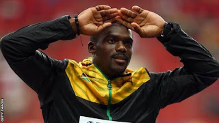 Jamaican sprinter Nesta Carter