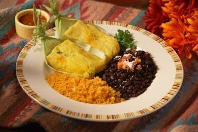 El Cholo green corn tamales