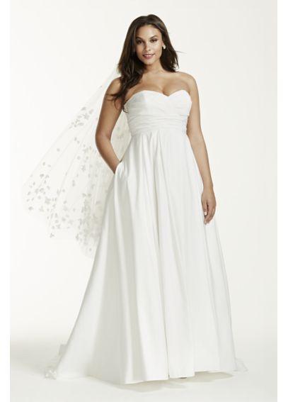 vestidos de novia para gorditas sin cintura