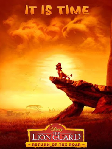 Poster Of The Lion Guard Return Of The Roar 2015 Full Movie Download 300MB In Hindi English Dual Audio 720P Compressed Small Size Pc Movie