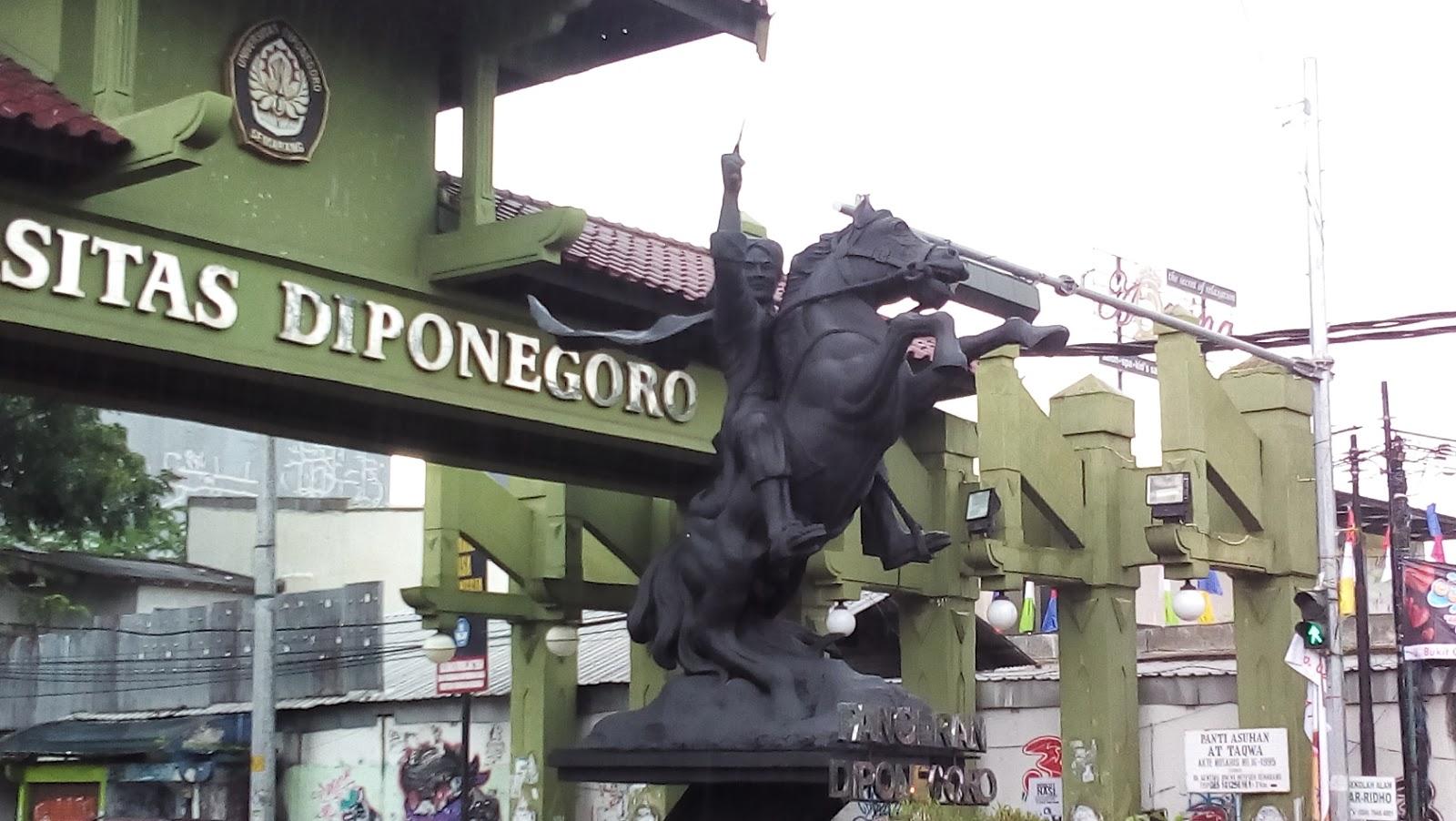 Gambar Pangeran Diponegoro Berwarna
