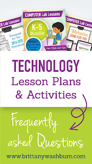 Technology Lesson Plans and Activities Frequently Asked Questions