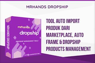 Tools auto produk dari marketplace, auto frame dan dropship product management