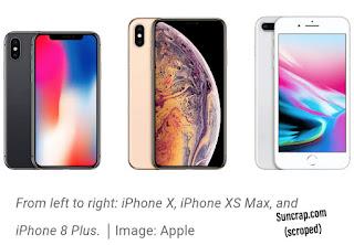 Smartphone: Apple's New iPhone XS MAX