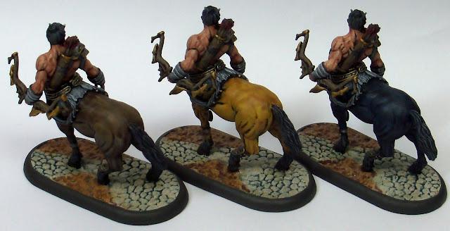 Nova Aetas Primaevi Miniatures Painted Centaur