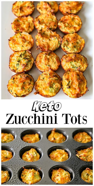 Zucchini Tots From The Ketogenic Cookbook