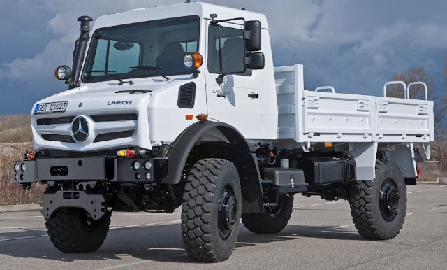 2014 Mercedes-Benz Unimog U5023 Review