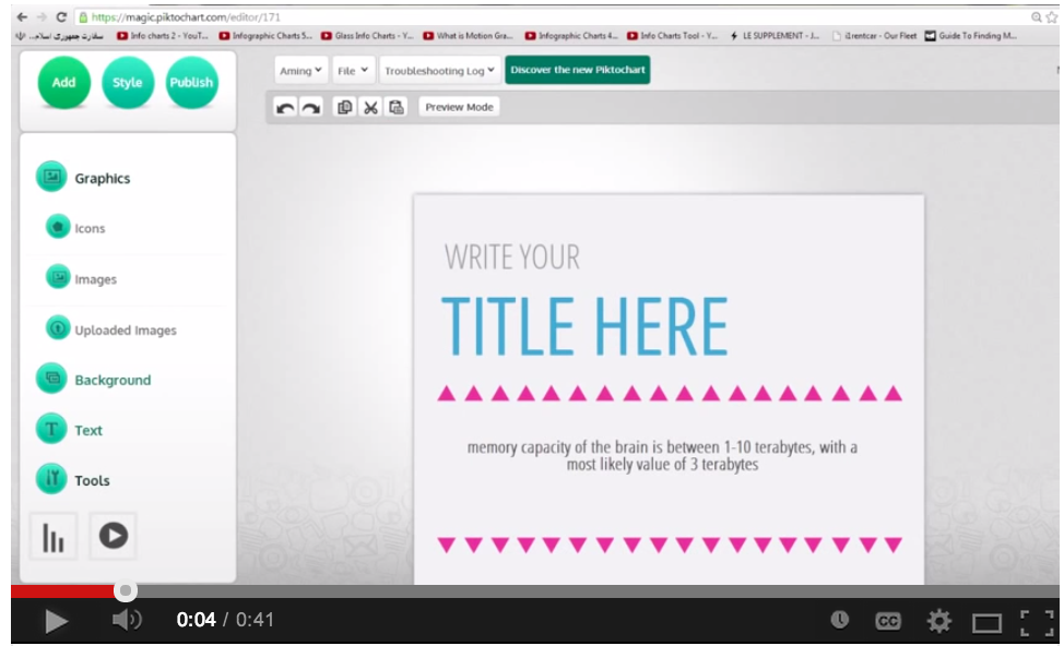 7 Video Tutorials To Help You Create Classroom Posters And Infographics Using Piktochart