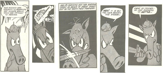 Cerebus the Aardvark two eyes