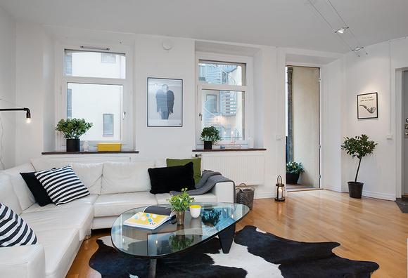 Una pizca de hogar pisito de 42 metros cuadrados muy for Pisos de 40 metros decoracion