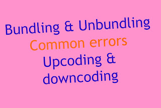 Bundling and Unbundling of cpt codes: Common errors
