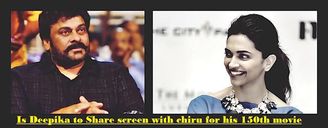 Deepika Padukone to share screen with chiranjeevi in kathilantodu