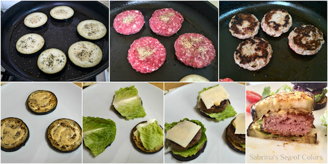 Mini hamburguesas light paso a paso