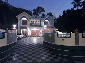 Jijo Grorges Heaven at Pathanapuram, Kerala home design