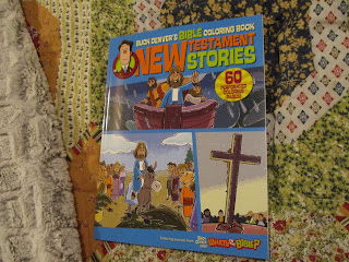 Missys Product Reviews Buck Denver S Bible Coloring Book New Testament Stories