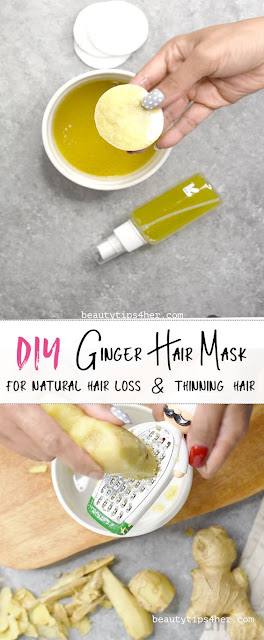 Ginger Oil Hair Mask ForHair Growth And To Cure  Dandruff And Thinning Of Hair