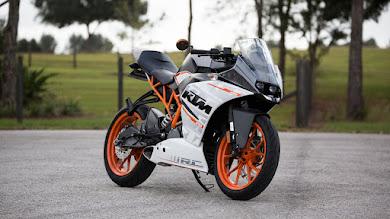 KTM 390 Motorcycle