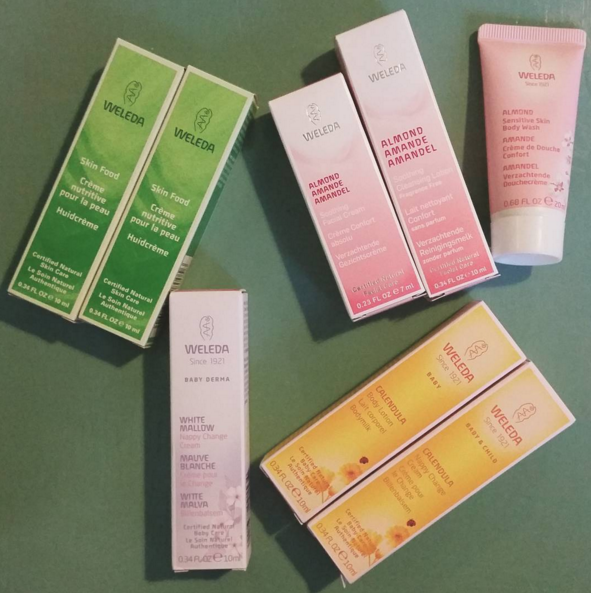 Weleda samples