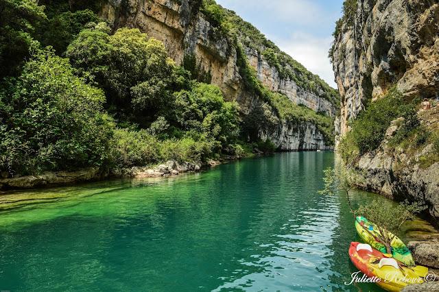 Kayak dans les Gorges du Verdon