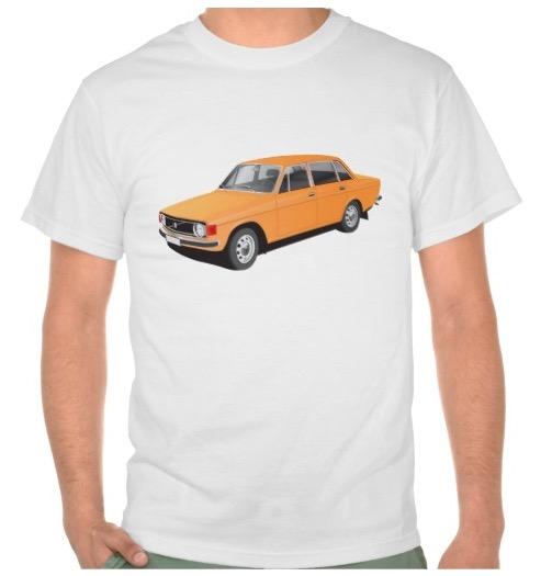 Volvo P 144 t-shirt