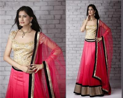 latest-lehenga-saree-indian-blouse-designs-2016-17-for-women-3