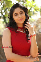 Telugu Actress Zahida Sam Latest Pos in Red Gown at RF Films New Movie Opening  0228.JPG