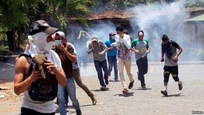 Estudiantes protagonizan protestas durante dos días en la capital Managua / REUTERS