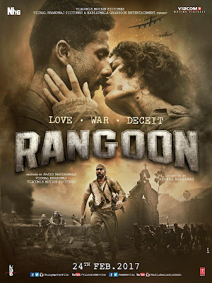 Rangoon 2017 Hindi 720p DVDRip 850Mb