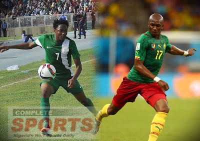 Nigeria-Cameroon football