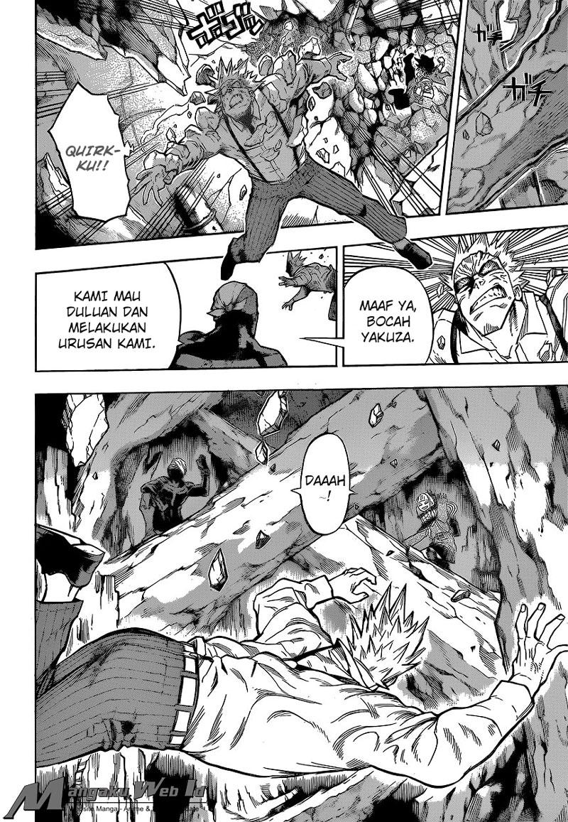 Boku no Hero Academia – Chapter 149 : Tenanglah, Irinaka