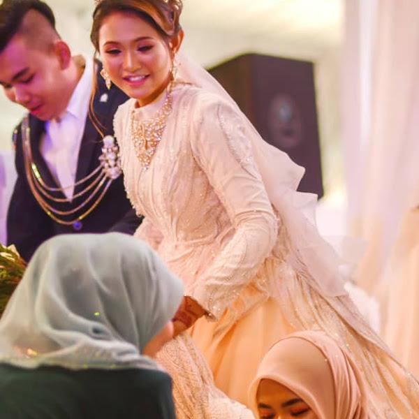 Bertuahnya Siti Jamumall dapat tajaan kahwin 500k!