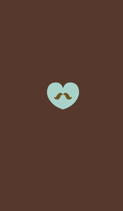 Fashionable whisker chocolate mint