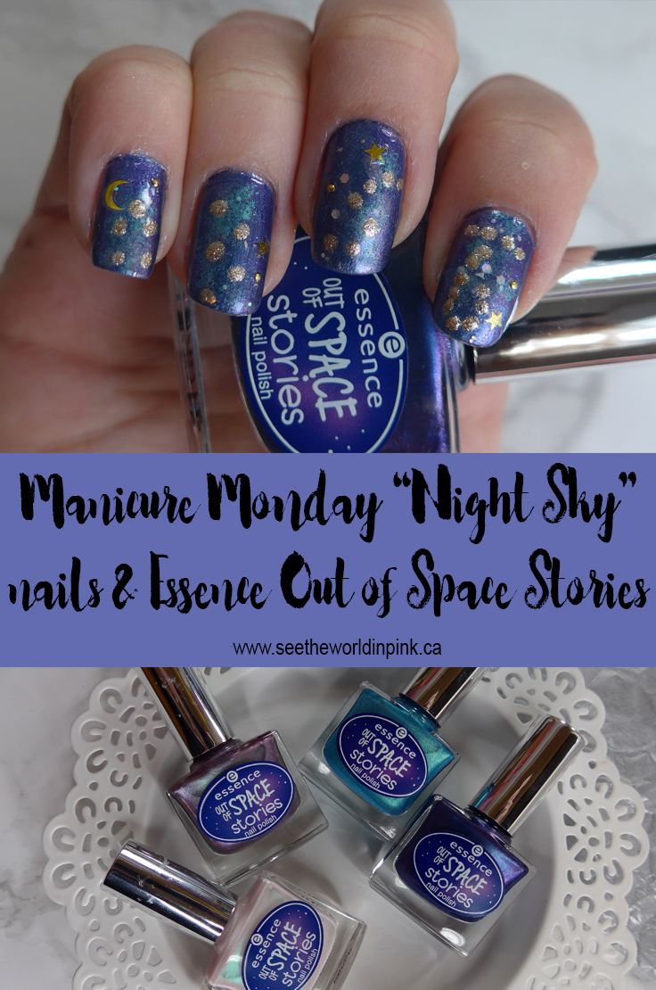 Night Sky Constellation Nails