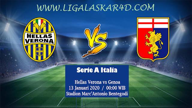 Prediksi Pertandingan Hellas Verona vs Genoa 13 Januari 2020