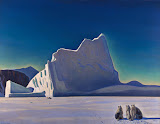 Seal Hunter: North Greenland by Rockwell Kent - Landscape Paintings from Hermitage Museum