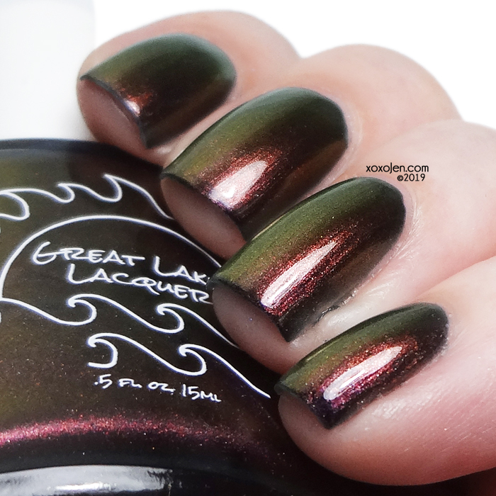 xoxoJen's swatch of Great Lakes Lacquer The Dying Of The Light v2