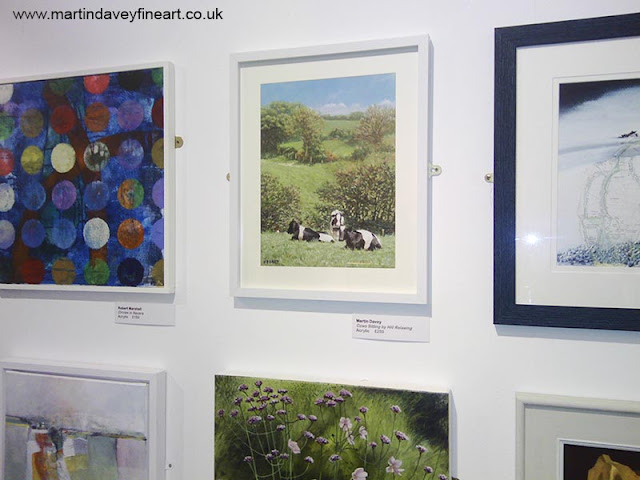 cows relaxing art on Red House Open art exhibition 2016