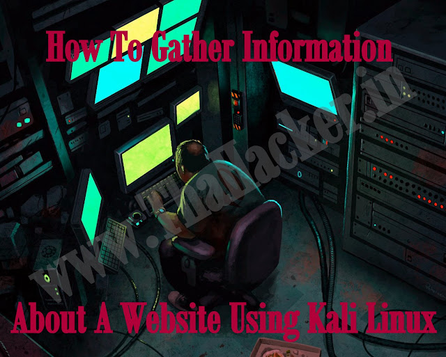 How To Gather Information About A Website Using Kali Linux