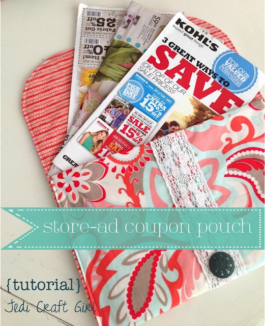 Sewing projects non zipper pouch tutorial